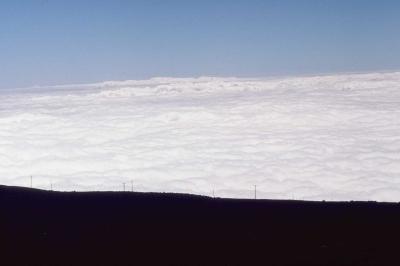 ハレアカラ火山(雲海)