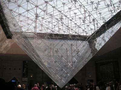 ルーブル(逆さピラミッド)