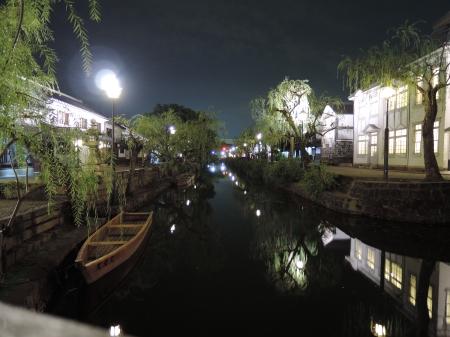 美観地区の夜景