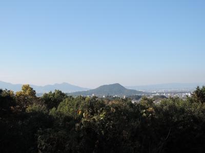 甘樫の丘(畝傍山〜二上山)